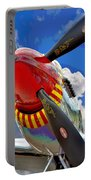 Tuskegee Airmen Fighter Plane Portable Battery Charger