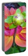 Tutu Dancer Flower Portable Battery Charger