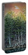 Twilight At Dogwood Canyon Portable Battery Charger