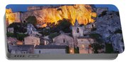 Twilight Over Les Baux Portable Battery Charger
