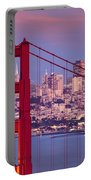 Twilight Over San Francisco Portable Battery Charger