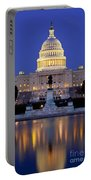 Twilight Over Us Capitol Portable Battery Charger