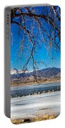 Twin Peaks Blue Portable Battery Charger