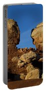 Twin Rocks Capitol Reef National Park Utah Portable Battery Charger