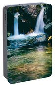Twin Waterfall Portable Battery Charger