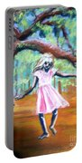 Twirl Under The Oaks Portable Battery Charger