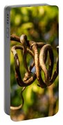 Twirling Vine Tendril Portable Battery Charger