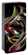 Twisted Abstract 2 Portable Battery Charger
