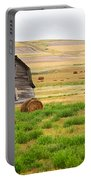 Twisted Barn On Canadian Prairie, Big Portable Battery Charger
