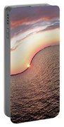 Twisted Sunset Portable Battery Charger