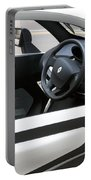 Twizy Rental Electric Car Side And Interior Milan Italy Portable Battery Charger