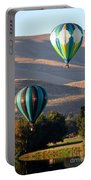 Two Balloons In Morning Sunshine Portable Battery Charger