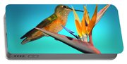 Two Birds Of Paradise Portable Battery Charger