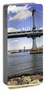 Two Bridges View - Manhattan Portable Battery Charger