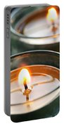 Two Candles Portable Battery Charger