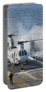 Two Ch-46e Sea Knight Helicopters Portable Battery Charger