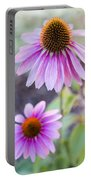 Two Echinacea Portable Battery Charger