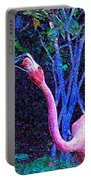 Two Flamingos Portable Battery Charger