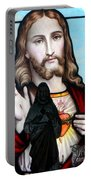 Two Jesuses Portable Battery Charger