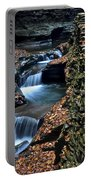 Two Kinds Of Steps Portable Battery Charger by Frozen in Time Fine Art Photography