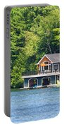 Two Luxury Boathouses Portable Battery Charger