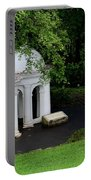 Two Meditating Cupolas In Fort Canning Park Singapore Portable Battery Charger