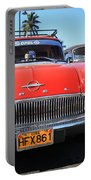 Two Old American Cars Portable Battery Charger
