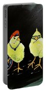 Two Smokin Hot Chicks Portable Battery Charger