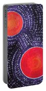 Two Suns Original Painting Portable Battery Charger