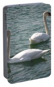 Two Swans A Swimming Portable Battery Charger
