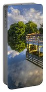 Two Worlds At Wakodahatchee Portable Battery Charger