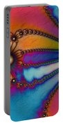 Tye Dye Portable Battery Charger