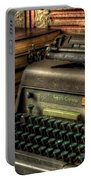 Typewriter Portable Battery Charger by David Morefield