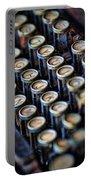 Typewriter Keys Portable Battery Charger