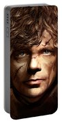 Tyrion Lannister - Peter Dinklage Game Of Thrones Artwork 2 Portable Battery Charger
