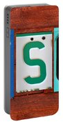 Tyson License Plate Name Sign Fun Kid Room Decor Portable Battery Charger