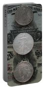 U S History Of Silver Dollars Portable Battery Charger