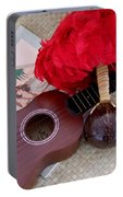 Ukulele Ipu And Songbook Portable Battery Charger