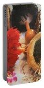 Uliuli Hula Ahui Ko'i Ho'i Kahiko Portable Battery Charger