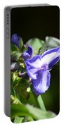 Ultra Violet Wildflower Portable Battery Charger