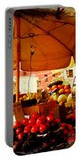 Umbrella Fruitstand - Autumn Bounty Portable Battery Charger