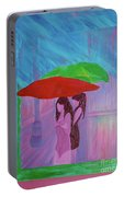 Umbrella Girls Portable Battery Charger