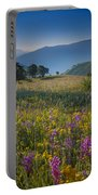 Umbria Wildflowers Portable Battery Charger