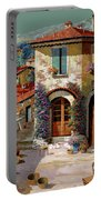Un Cielo Verdolino Portable Battery Charger by Guido Borelli