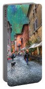 Una Notta A Roma Portable Battery Charger