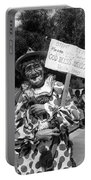 Uncle Harry Clown Drive Carefully  God Bless America Sign Tucson Arizona 1991 Portable Battery Charger