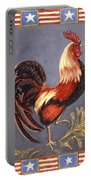 Uncle Sam The Rooster Portable Battery Charger