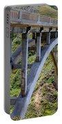 Under Bixby Bridge By Diana Sainz Portable Battery Charger