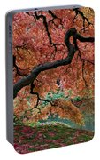 Under Fall's Cover Portable Battery Charger