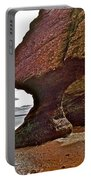 Under Fundy Feet In Big Cove At Hopewell Rocks-new Brunswick Portable Battery Charger